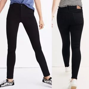Madewell Roadtripper Skinny Jeans: Bennett Black